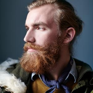 A 'hipster' with a beard, c.Jake Curtis/Getty Images