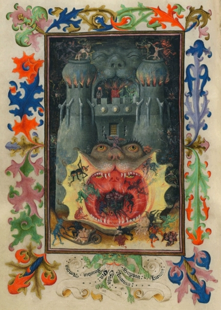 Mouth of Hell, Meester van Katharina van Kleef, c. 1440