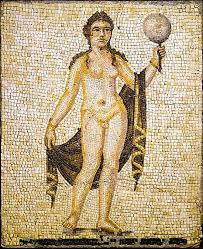 Mosaic of Hermaphroditus, North Africa, Roman period, 2nd-3rd century AD (Wikimedia Commons)