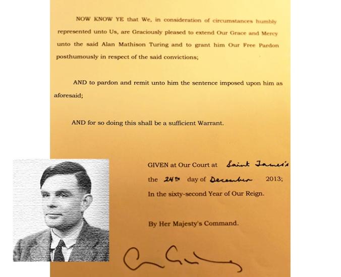 pardon Turing